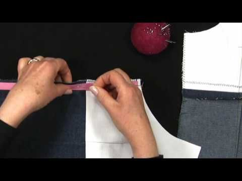 Sewing - Make Your Own Clothes - Part 5 - Inserting an Invisible Zip - Sewing Lesson - YouTube