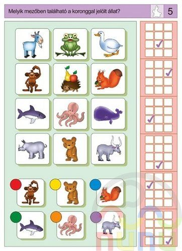 visuele discriminatie voor kleuters / preschool visual discrimination