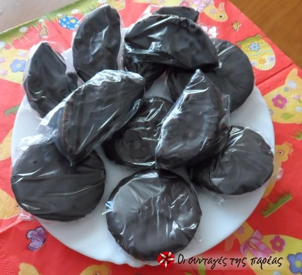 Πορτοκαλένια σοκολατάκια #sintagespareas