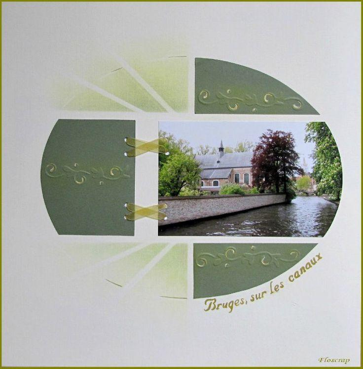 1003 - Photo de Bruges et ses envrons,mai 2010 - Flopassionscrap