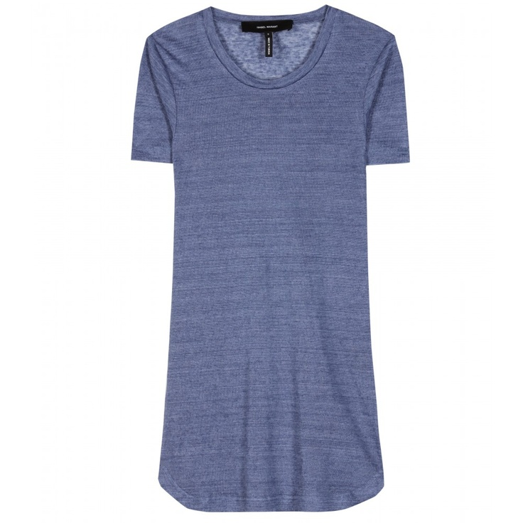 JORIS LINEN T-SHIRT seen @ www.mytheresa.com