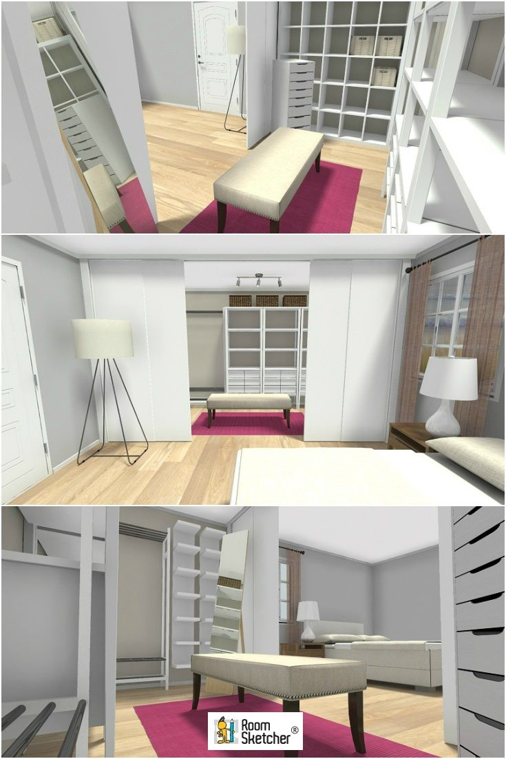 Room Sketching: Are You Dreaming Of A Walk-in-closet? Make It Real, With