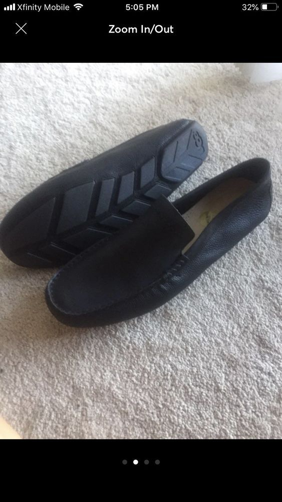 3f926d098664 Ugg Australia Leather Mens Slip On Loafers Size 15 New Out Of Box ...