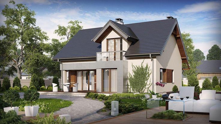 Projekt domu SZ5 Z89 - DOM OZ6-68 - gotowy projekt domu