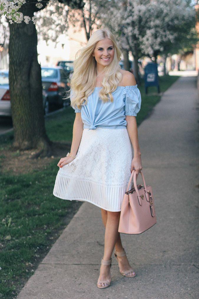 Get the look: Kathleen's perfect summer midi skirt