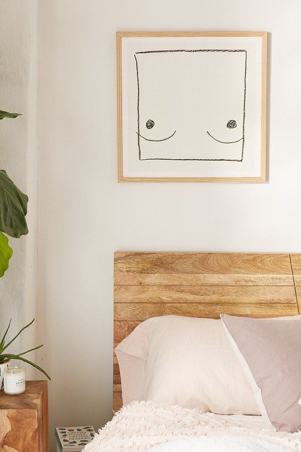 ANNA GLEESON BODY ART PRINT by URBAN OUTFITTERS HOME