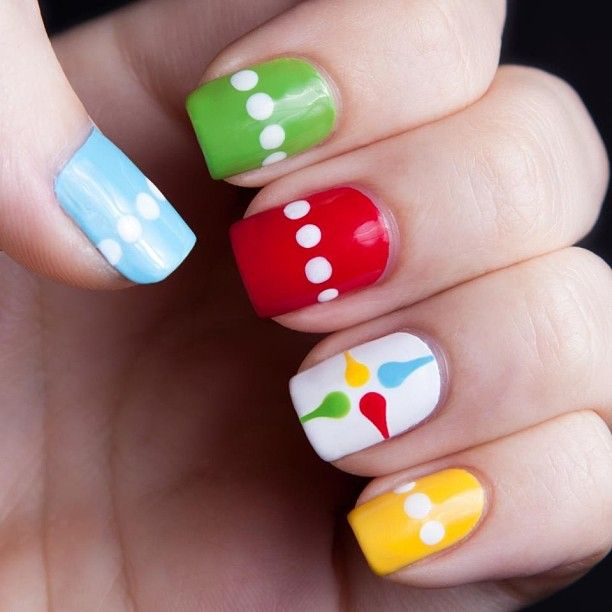 Dots and lines nail art - Best 25+ Line Nail Designs Ideas On Pinterest Line Nail Art