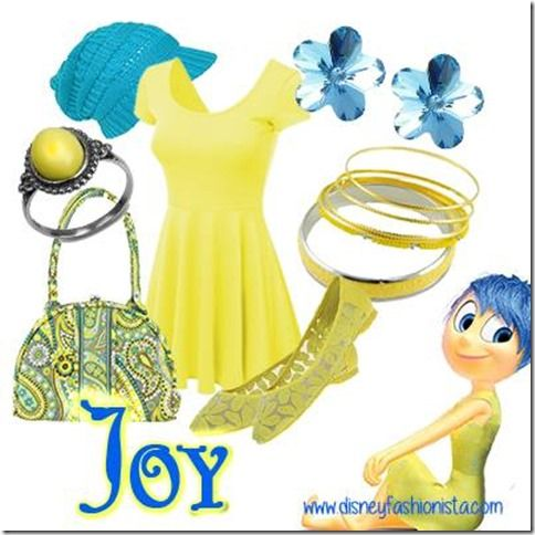 Disney Bounding With The Disney Fashionista- Jubilant Joy From Inside Out!