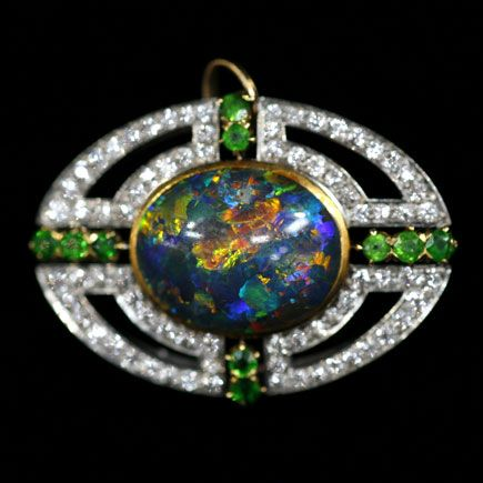 Most Expensive Antique Roadshow Appraisals | Shreve & Company Opal Brooch, ca. 1910 | Roadshow Archive | PBS