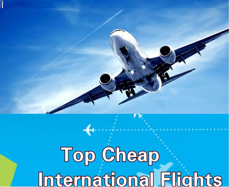 Get Cheapest Rate and Special Offers on international flight tickets at quick booker travel. We offer the lowest international airline tickets available online to top vacation destinations across the world.