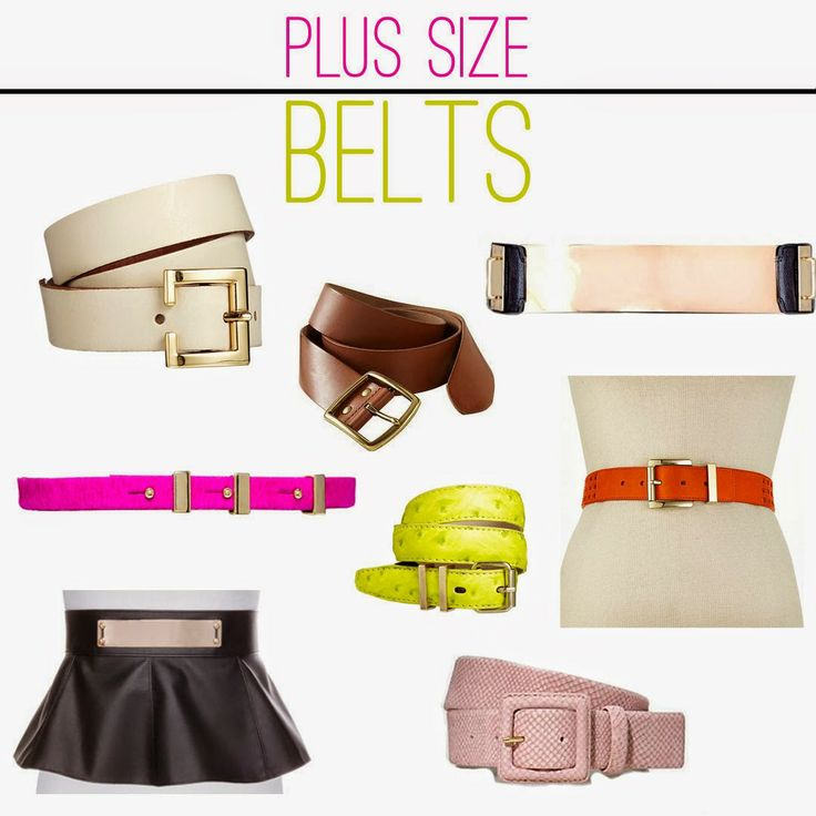 Plus Size Belts- that peplum belt is crazy awesome!