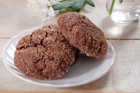 шоколадные печенье с тахини