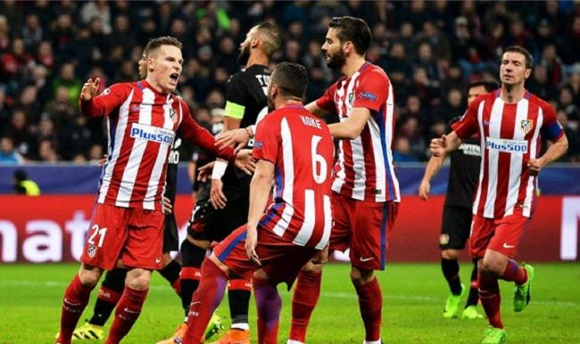 Atlético golea 4-2 al Bayer Leverkusen en la Champions League - http://www.notimundo.com.mx/deportes/atletico-golea-bayer-leverkusen/