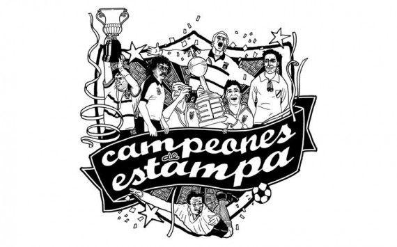 Campeones de estampa.