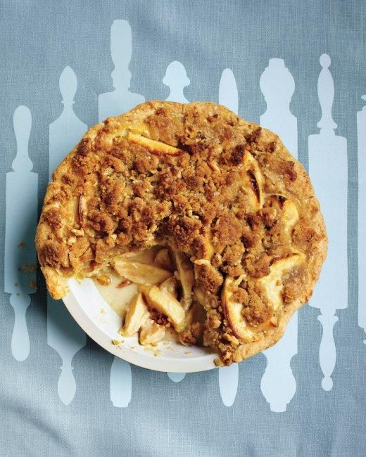 Apple-Sour Cream Crumb Pie Recipe: Cream Pies, Apples Pies, Pies Recipes, Apples Sour Cream, Cream Crumb, Apple Sour Cream, Martha Stewart, Pie Recipes, Crumb Pies
