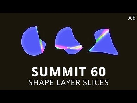 Create Animated Slices Using shape Layers in Ae - Lesterbanks
