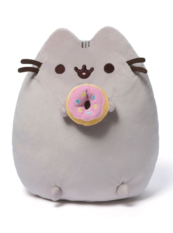 Baby Girl Bunny Wallpaper Pusheen Donut Plush Room Decor Pusheen Plush Pusheen