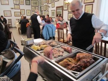Carrello degli Arrosti e dei Bolliti  www.ristorantecanossa.com