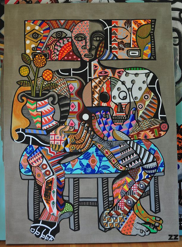Zio Ziegler Primitive Patterns inspiration