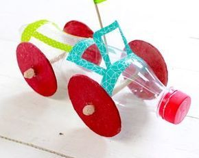 Confira como Faz Carrinho Infantil com Reciclagem de Garrafa Pet