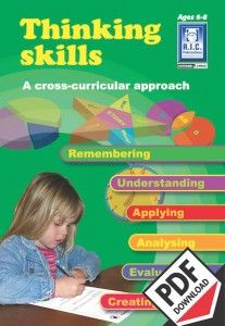 Thinking skills is a series of three blackline masters designed to help students understand and practise the six thinking skills of Bloom's revised taxonomy. The activities cover a variety of popular themes and topics of interest for the intended age group and span key learning areas. Ebook PDF teacher resource.