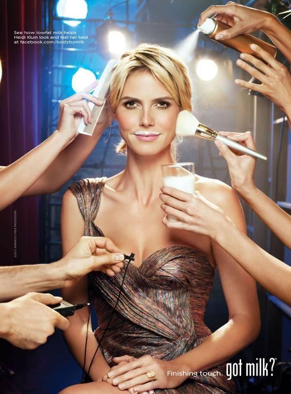 Heidi Klum Got Milk Campaign June 2011 (Got Milk)