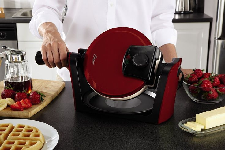 The safe, natural ceramic coating is PFOA and PTFE free, so you can cook foods without worry. Adjustable temperature control accurately sets cooking temperature to achieve desired results from light, fluffy waffles to crispy, golden waffles.  #Belgian #Waffle #Maker #Breakfast #Iron #Kitchen #Heavy