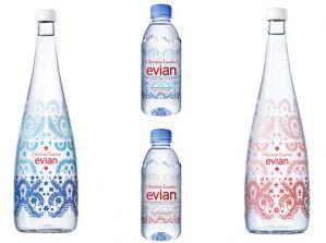 Bouteille Evian Christian Lacroix