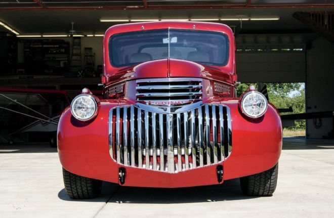 Old Muscle Cars For Sale >> 1946 Chevrolet Fire Truck Front Grille | Old Chevy Pickups ...