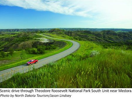 North Dakota Theodore Roosevelt National Park South Unit