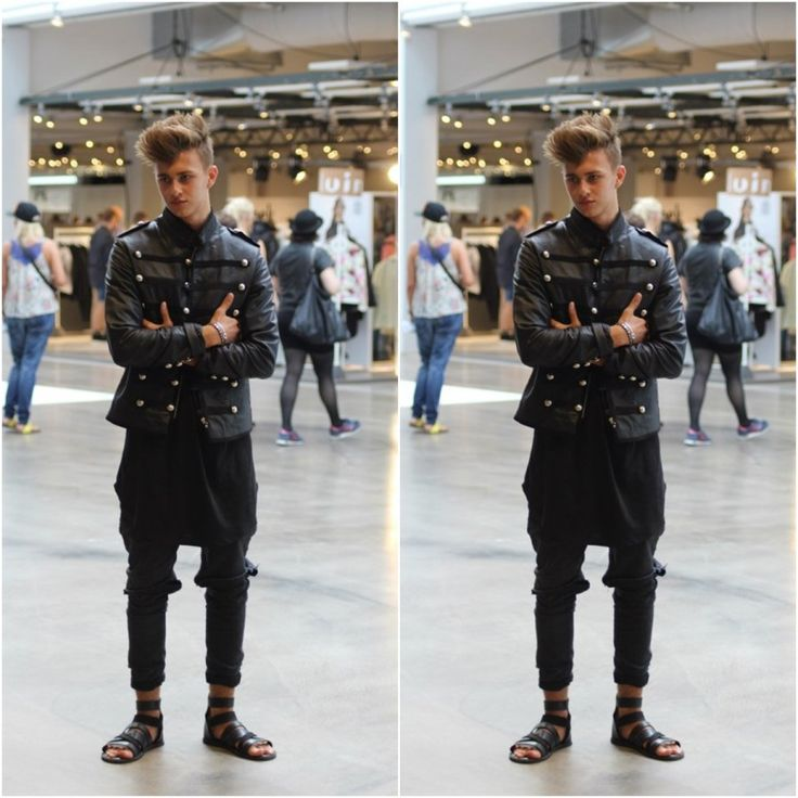 STROEM under the leather jacket.  #STROEM #Men #Fashion