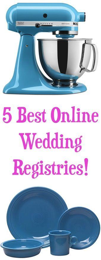 5 Best Online Wedding Registries! {for your wedding registry must haves!} | TheFrugalGirls.com