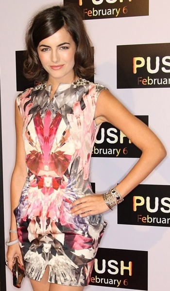 Camilla Belle - Alexander McQueen.  I've been obsessed with this print for quite a time.