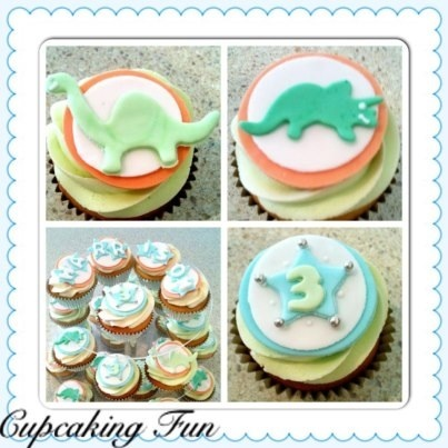 111 best decorated: cupcakes baby images on Pinterest | Petit fours ...