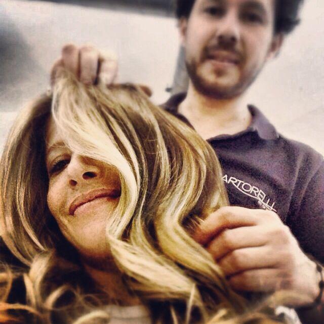 New ombre hair #bartorelli