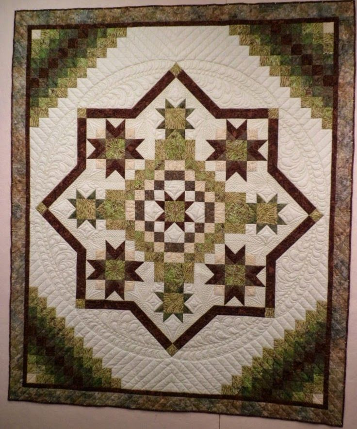 548 best GREEN QUILTS images on Pinterest | Quilting, Quilts and ... : irish mist quilt - Adamdwight.com