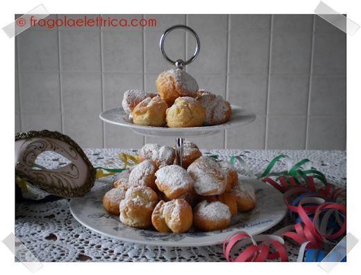 CASTAGNOLE MORBIDE fragolaelettrica.com Le ricette di Ennio Zaccariello #Ricetta #Carnevale