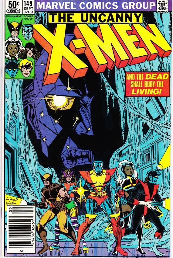 Uncanny X Men 149 1963 1st Series September 1981 Marvel Etsy In 2020 Marvel Comic Books Marvel Comics Covers X Men