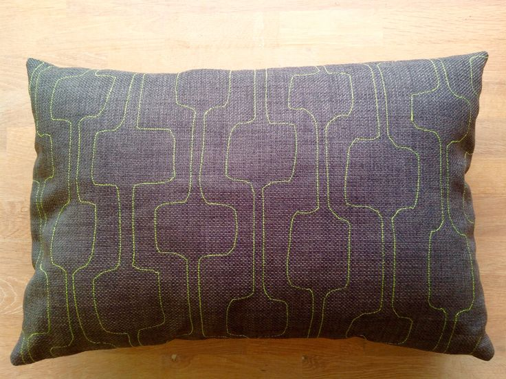 Embroidery pillow By Hanne Jo