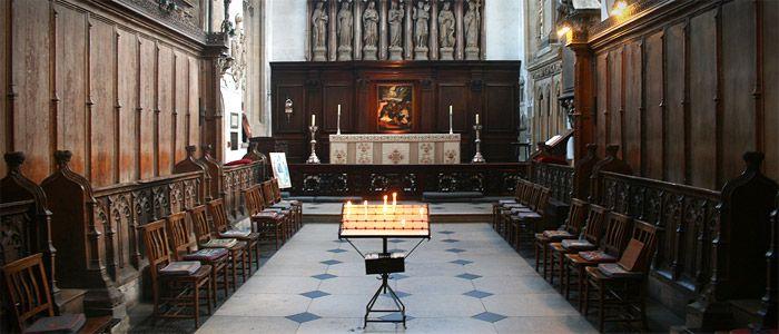University Church of St Mary the Virgin, Oxford. K-Array Installation