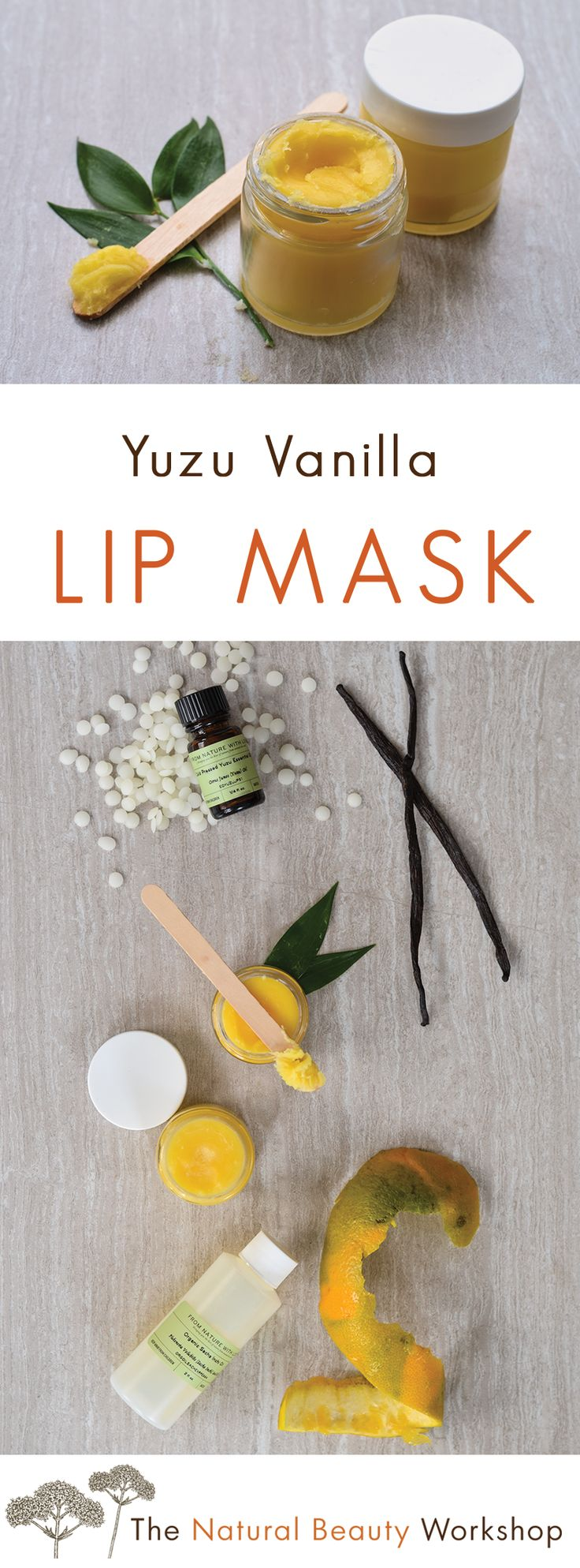 217 Best Diy Beauty Recipes Images On Pinterest Hacks Lavender Cream Vanilla Mandarin Lip Hydrate Make Your Own Yuzu Mask An Ultra Hydrating Balm For Very Dry Lips
