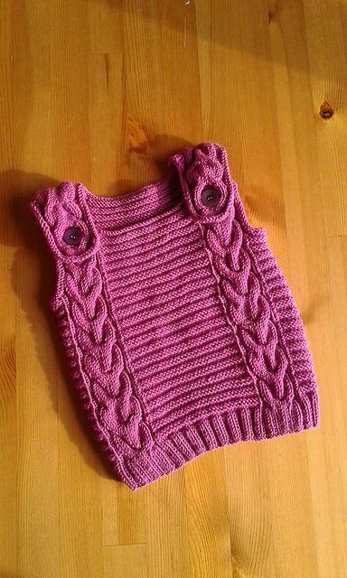 Ravelry: Terra Vest pattern by Tatsiana Matsiuk