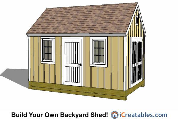 17 best images about 10x16 shed plans on pinterest pool for Colonial shed plans