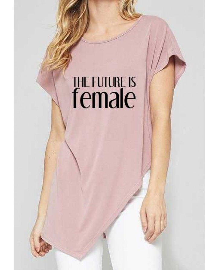 The Future Is Female Tee - 5% of proceeds donated to women in need.   #futureisfemale #feminist #neverthelessshepersisted