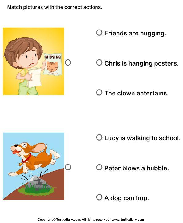 22 best Kinder phonics images on Pinterest Reading, Verb - active verbs