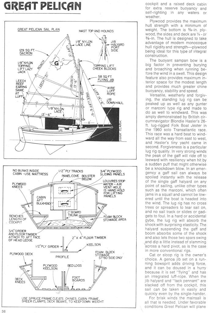 how to build a mini sailboat