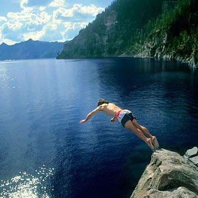 Best for uncrowded hiking: Crater Lake