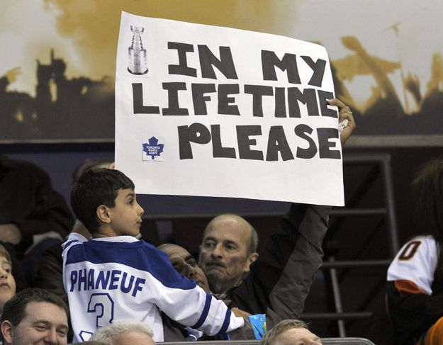 16 Awesome Hockey Fan Signs