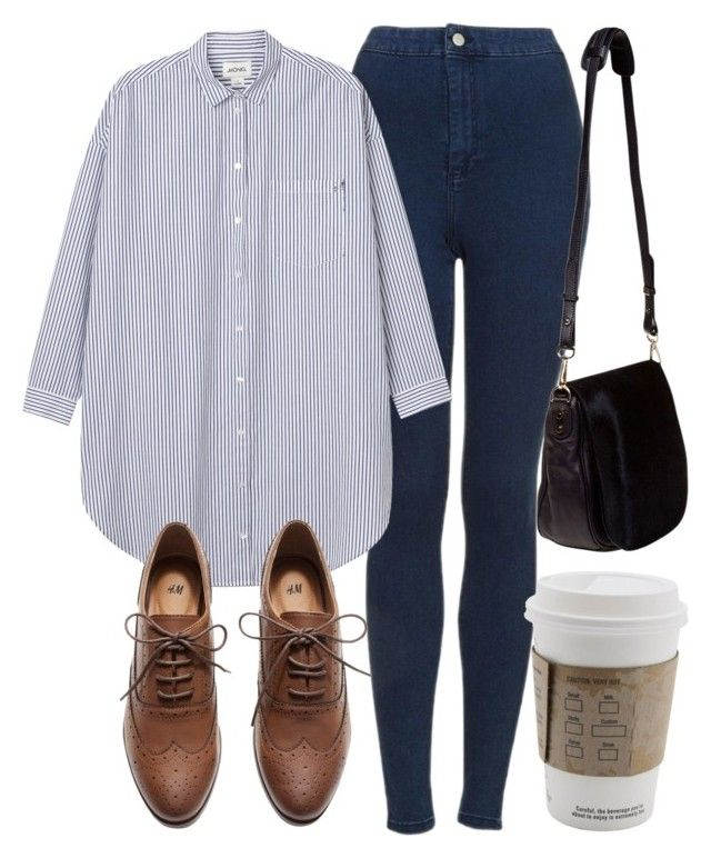 """Untitled #4236"" by laurenmboot ❤ liked on Polyvore featuring Topshop, Monki, H&M and Nomadic"