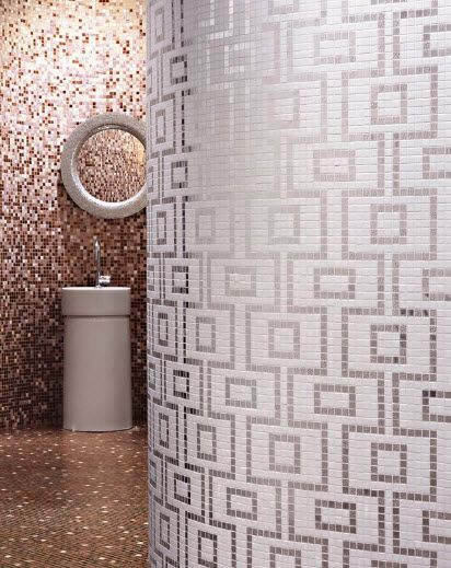 158 best images about bisazza glass mosaics on pinterest for Bisazza bathroom ideas